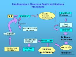 Fundamento o Elemento Básico del Sistema Preventivo S. P