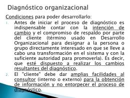 Perspectivasdeldiagnosticoorganizacional