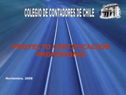 Resumen Proyecto Certificación - Colegio de Contadores de Chile