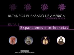 EXPANSIÓN DE LAS CULTURAS PRECOLOMBINAS