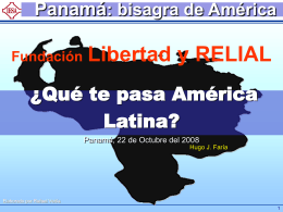 No Slide Title - Fundacion Libertad (Panamá)