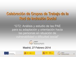 Diapositiva 1 - Red de Inclusión Social