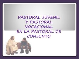 Tema N° 1. Consideraciones previas de la pastoral - itepal-dpj