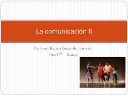 La comunicación 7º parte 2