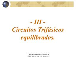 TEMA III - Teoría CA..