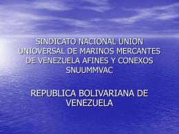 SINDICATO NACIONAL UNION UNIOVERSAL DE