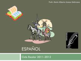 Español 1ro