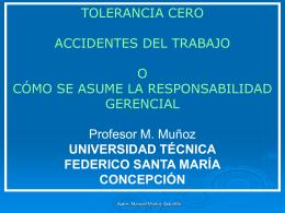 Diapositiva 1 - Seguridad e Higiene, Legislación, Ecologia