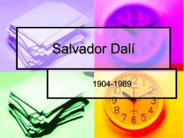 Salvador Dalí - Immaculateheartacademy.org
