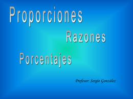 13 Proporciones -PPT