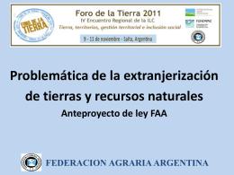 FAA_Ley de Tierras en Argentina_CONTIGIANI LUIS