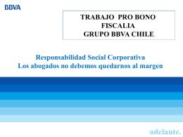Presentación Fiscalía Grupo BBVA