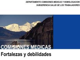 Comisiones Médicas - Superintendencia de Riesgos del Trabajo