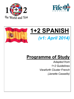 Programme of Study
