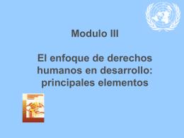 Diapositiva 1 - Alto Comisionado de las Naciones Unidas para los