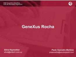 IDE GeneXus Rocha