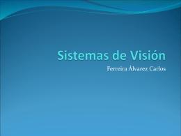 Sistemas de Vision