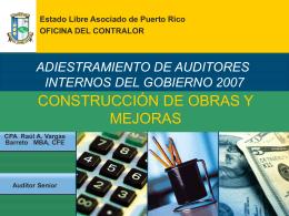 03 Construcción de Obras Públicas y Mejoras Permanentes