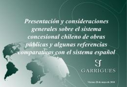 Chile: Introducción al país y marco institucional