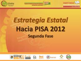 Presentacion y Calendarización PISA