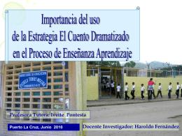 el cuento - Educacion Bolivariana
