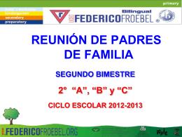 segundo - Colegio Federico Froebel