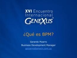 ¿Qué es BPM?
