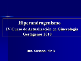 Hiperandrogenismo sin Alteraciones del Ciclo. Hirsutismo