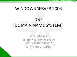 EXPOSICION DE DNS