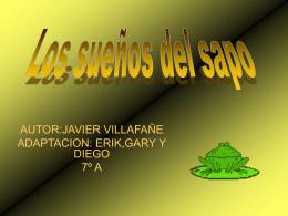 LOS SUENOS DE SAPO.pps