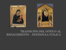 Precursores del Renacimiento