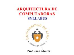 1ArqCompA - Universidad de Lima