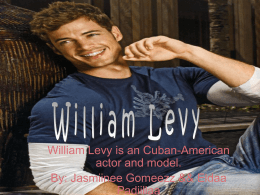 William Levy - evaguillenbiography