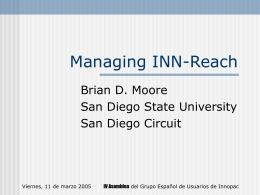 Managing INN