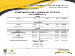 Diapositiva 1 - Universidad Pedagógica y Tecnológica de Colombia