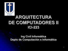 INFORMÁTICA SECCION 1 - Departamento de Computación e
