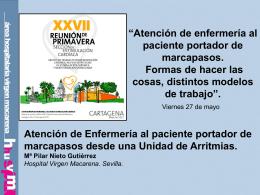 Diapositiva 1 - Asociación Española de enfermería en cardiología
