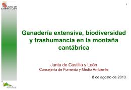 2013-08-08 documento ganadería extensiva montaña cantábrica