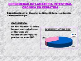 ENFERMEDAD INFLAMATORIA INTESTINAL CRÓNICA