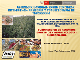 4- funciones del instituto nacional de innovacion agraria-inia