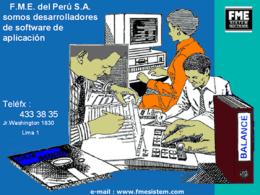 fmesistem = aplica nuevas TECNOLOGIAS - FME