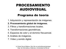 transformación de histograma - Departamento de Informática y