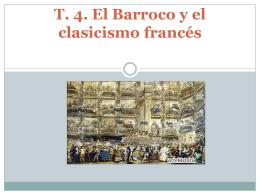 T. 4. El Barroco y el clasicismo francés índice El concepto del