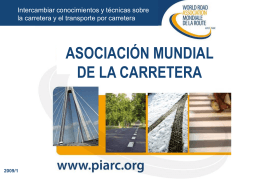 AIPCR-PIARC - Association mondiale de la Route