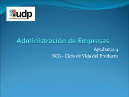 AYUDANTIA 4 ADMINISTRACION DE EMPRESAS