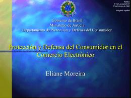 FTAA.ecom/inf/127 27 de febrero de 2002 Protección y Defensa del