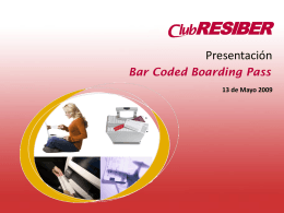 IB Bar Coded Boarding Pass
