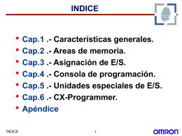 CS1 - CARACTERÍSTICAS GENERALES