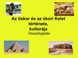 Őskor és az ókori Kelet