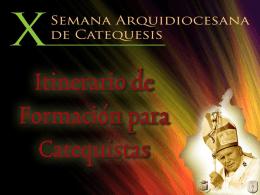 formación de agentes pastoral en la arquidiócesis de méxico
